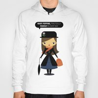 mary poppins Hoodies featuring Mary Poppins by oyoyoi