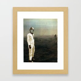 dust race Framed Art Print