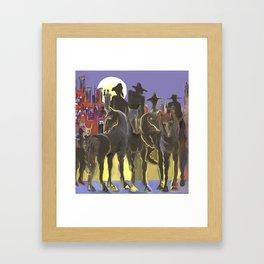Jinetes Apocalipticos Framed Art Print