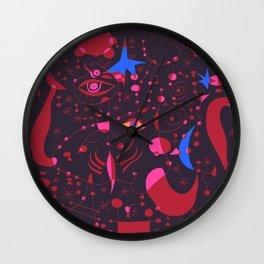 Joan Mirò Pattern #2 Wall Clock
