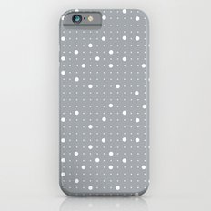 Pin Points Grey iPhone 6s Slim Case