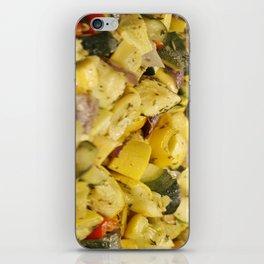 Steamed Vegetables iPhone Skin