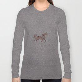 Arabian Horse Words Long Sleeve T-shirt