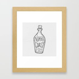 North Coast Bev. Co Framed Art Print
