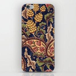 Beautiful Victorian Vintage Floral Pattern iPhone Skin