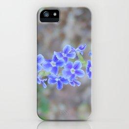 delicate purple iPhone Case