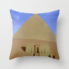 The Other Pyramid Throw Pillow
