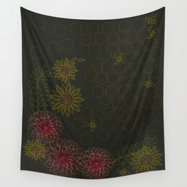 Busy Bees Wall Tapestry