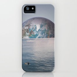 LONE SURFER iPhone Case