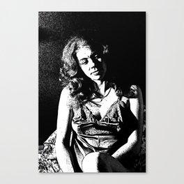 Rosie Reflecting Canvas Print