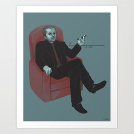 A Contract With Crowley (Supernatural) Art Print
