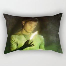 Salt & Burn 'Em Rectangular Pillow