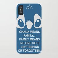 stitch iPhone & iPod Cases featuring Stitch by Bekka-Kate
