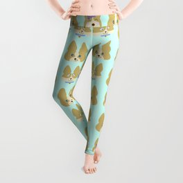 Cute Corgis Allover Pattern Leggings
