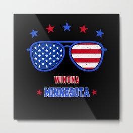 Winona Minnesota Metal Print