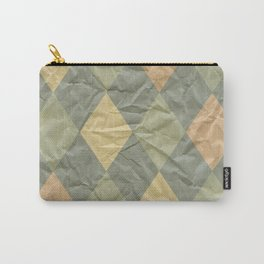 Wrinkled Harlequin Carry-All Pouch