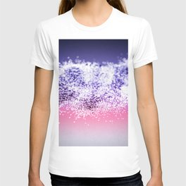 Mermaid Girl Glitter #1 #pink #blue #ombre #decor #art #society6 T-shirt
