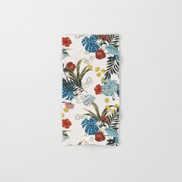 Tropical pattern Hand & Bath Towel