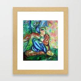Sario Painter , Danae Framed Art Print