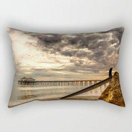Waiting for waves Rectangular Pillow