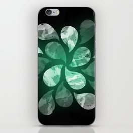 Abstract Water Drops XXX iPhone Skin