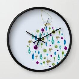 Christmas Sparkles Wall Clock