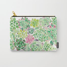 Succulent Garden Carry-All Pouch