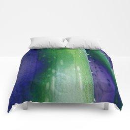 Aloe Vera Abstract Comforters