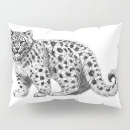 Snow Leopard cub g142 Pillow Sham
