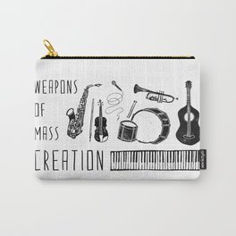 Weapons Of Mass Creation - Music Carry-All Pouch