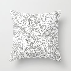 koznoz Throw Pillow
