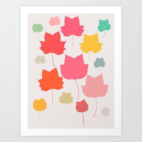 tulipifera 1 Art Print