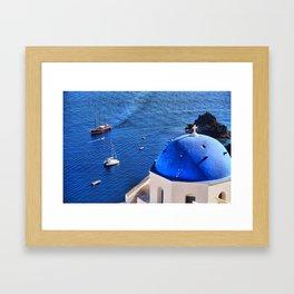 Santorini 14 Framed Art Print