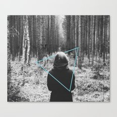 Color in the Woods Canvas Print