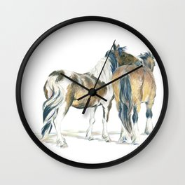 Lean On Me Wall Clock