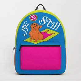 Be Still Frenchie Backpack