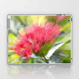 Flower Burst - Electric Magenta Laptop & iPad Skin