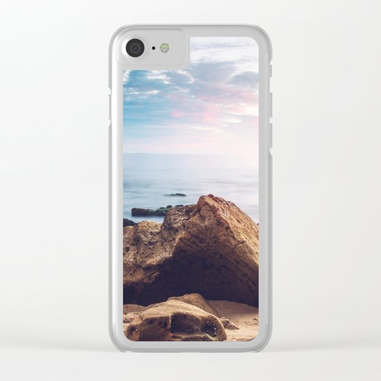 Ocean Rock Clear iPhone Case