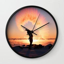 Desert Dawn Wall Clock