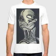 Phantom of the Undead White Mens Fitted Tee SMALL