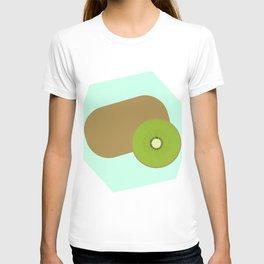 Kiwi Background T-shirt