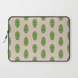 Tropical Banana Leaf Laptop Sleeve