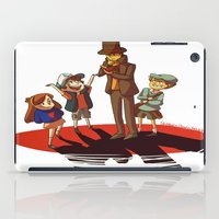 gravity falls iPad Cases featuring Layton in Gravity Falls by stubbornpotato