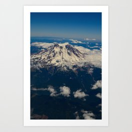 Pacific_Northwest Aerial View - IIa Art Print