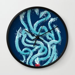 Firehydra! Wall Clock