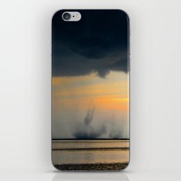 Water Spout iPhone Skin