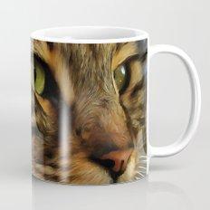 Aslan The Long Haired Tabby Cat Mug