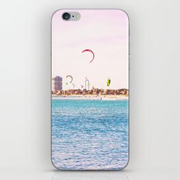 Windsurfing at St Kilda iPhone Skin