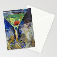 Summer Breeze Martini Stationery Cards