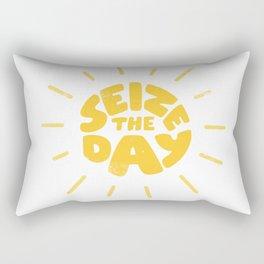 Seize the day Rectangular Pillow